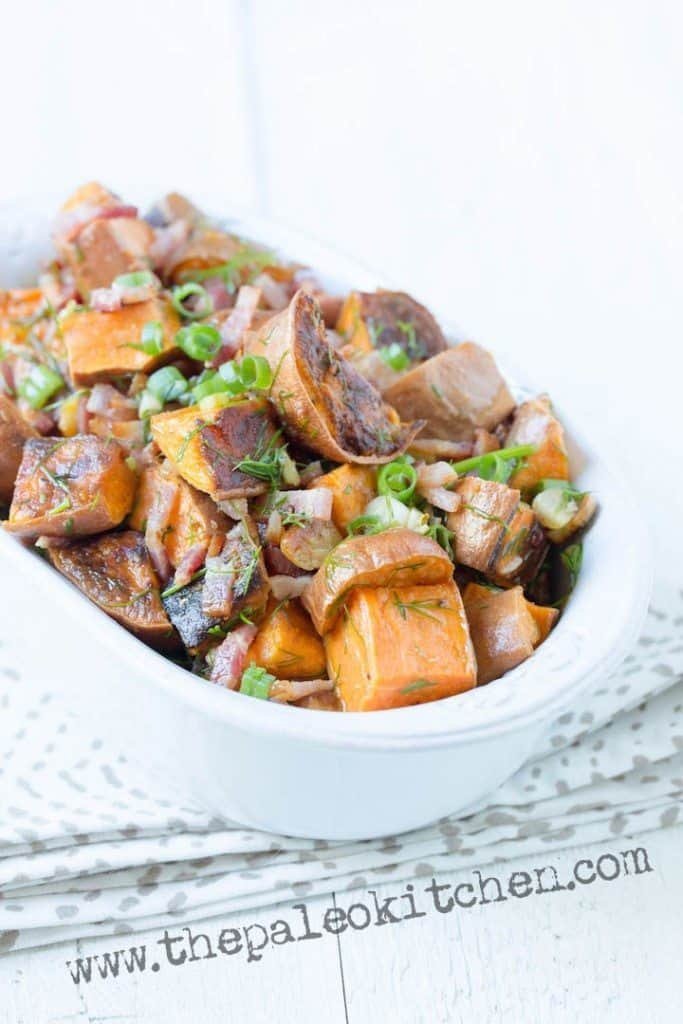 George and Juli's Bacon Lime Sweet Potato Salad