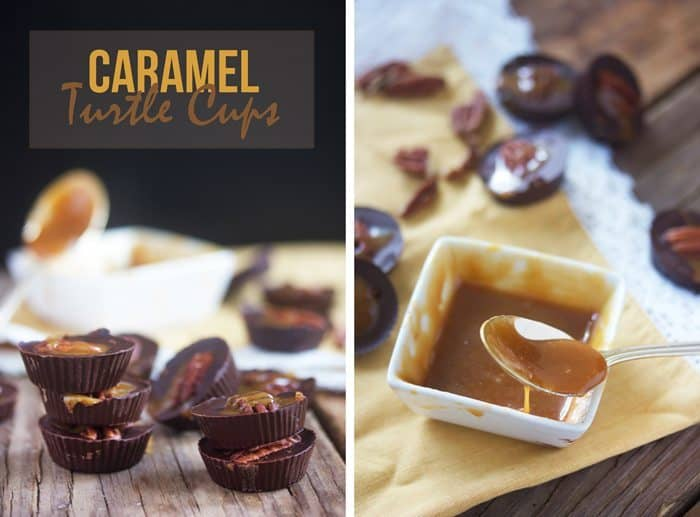 All-Purpose Caramel + Caramel Turtle Cups