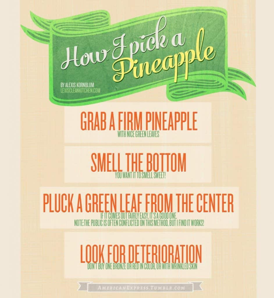 Howtopickapineapple