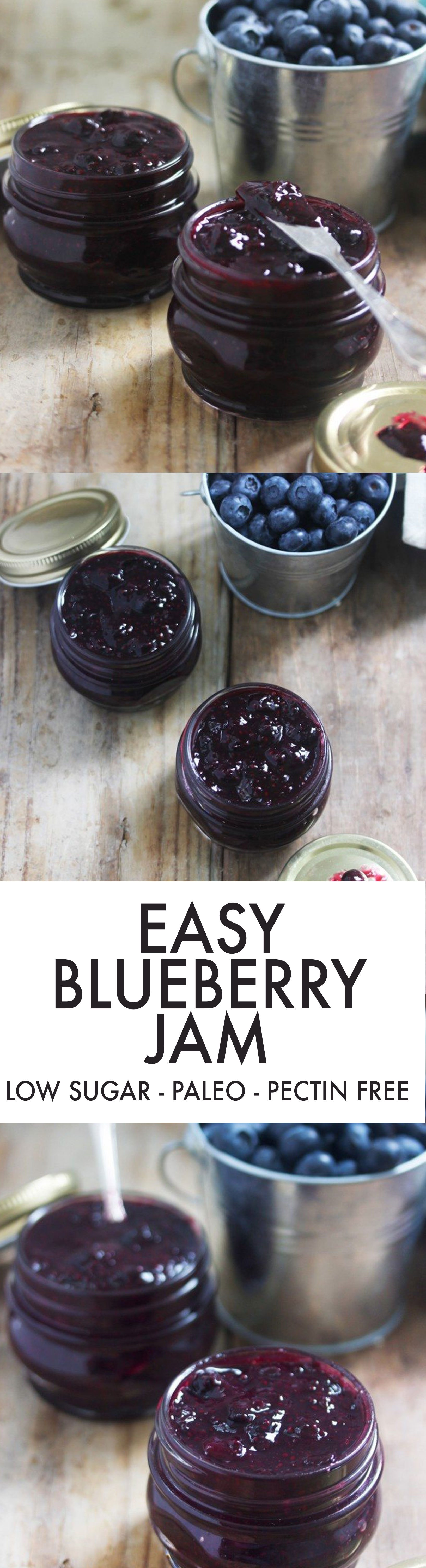 Easy Blueberry Jam [VIDEO] - Lexi's Clean Kitchen