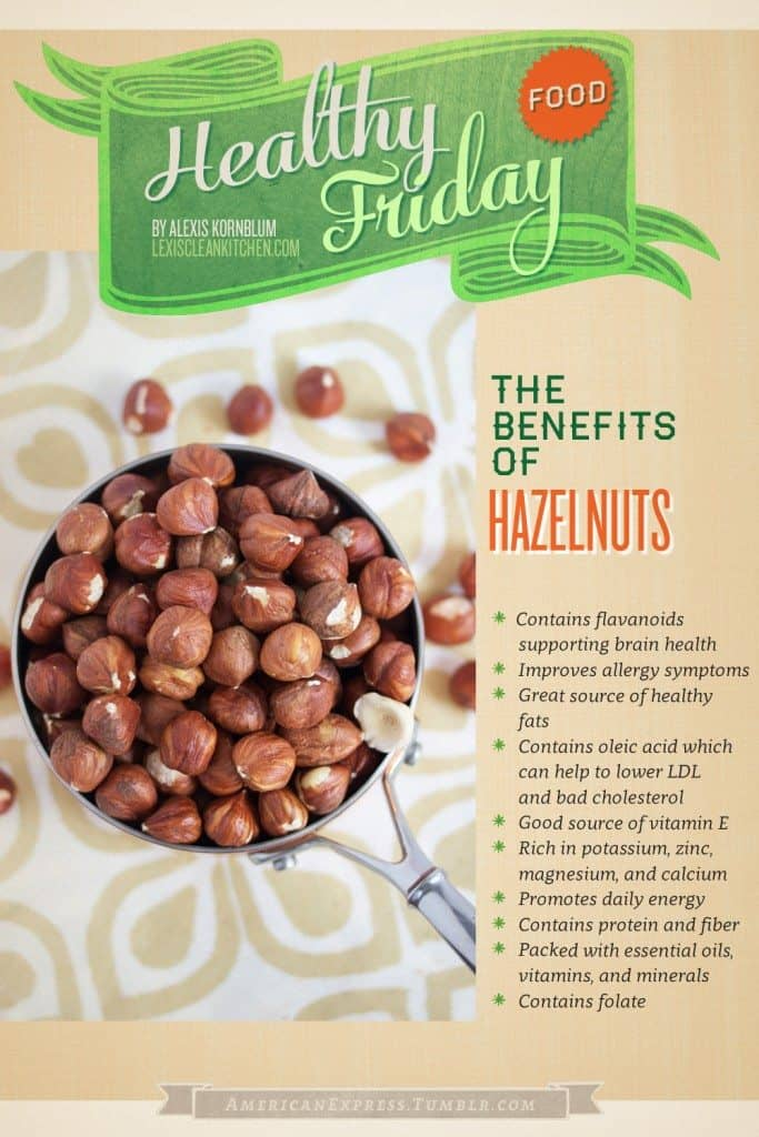 The Health Benefits of Hazelnuts