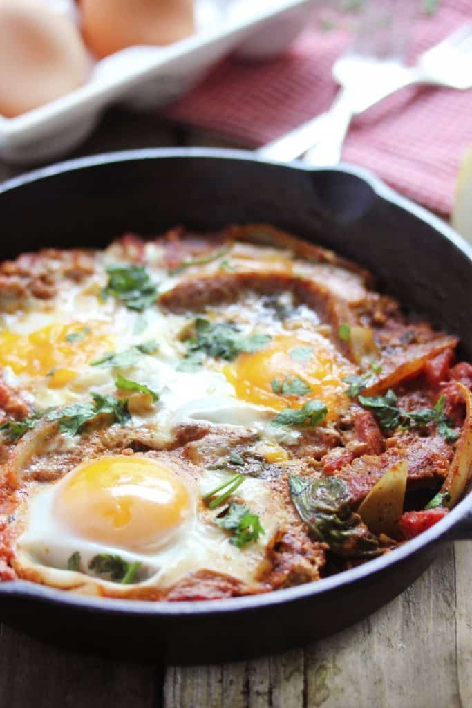 Shakshuka Recipe For One