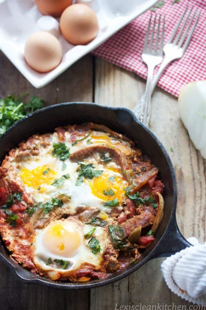Homemade Shakshuka