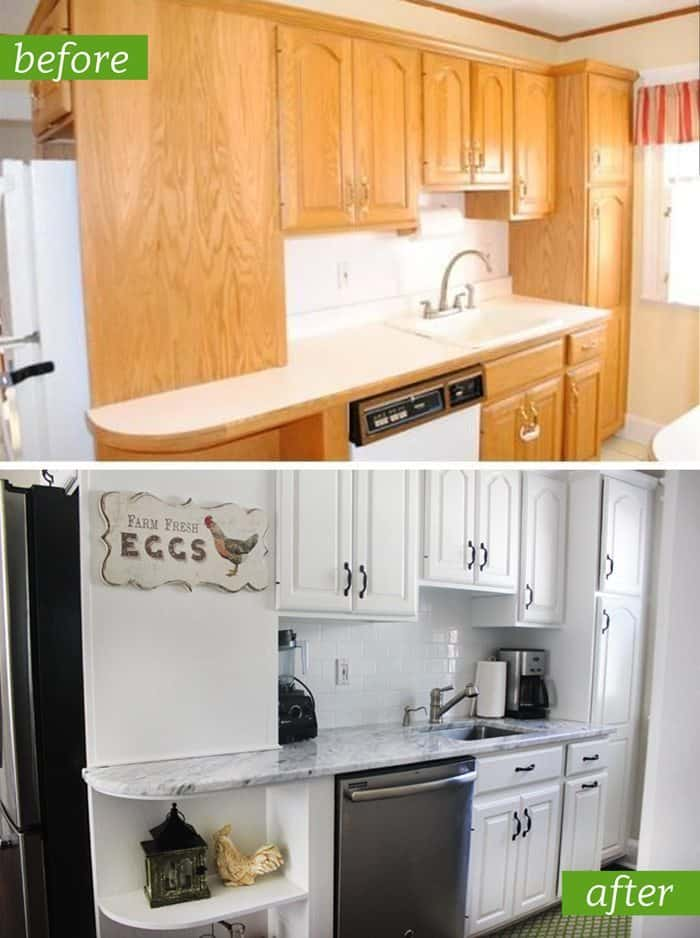 Kitchen Remodel: Before and After