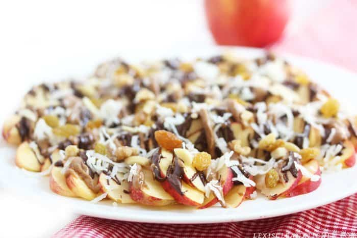 Apple Nachos & Kid-Friendly Apple Snacks