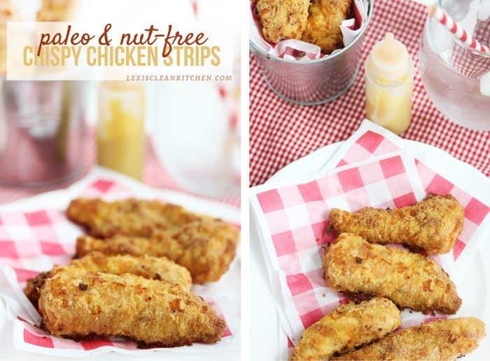 Crispy Nut-free Chicken Strips