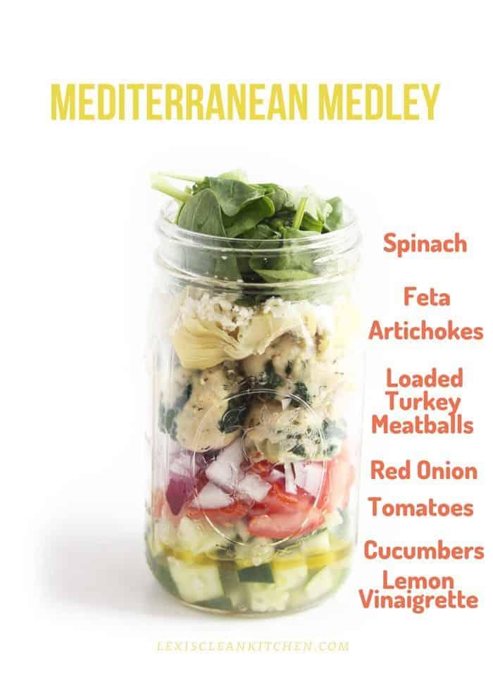 Metditerranean Medley Jar
