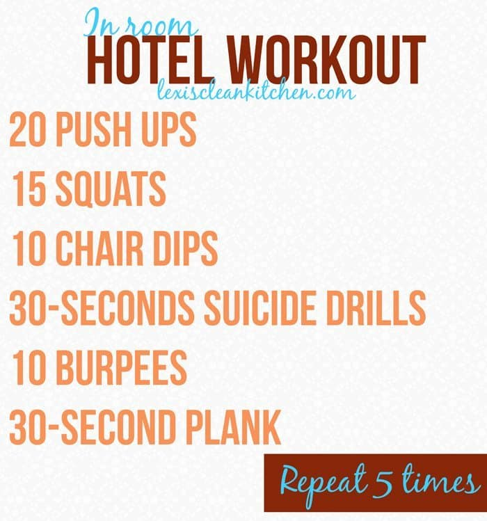hotelworkout