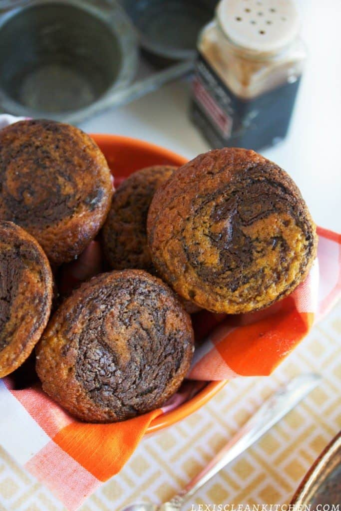 Lexi S Clean Kitchen Nutella Swirl Pumpkin Muffin