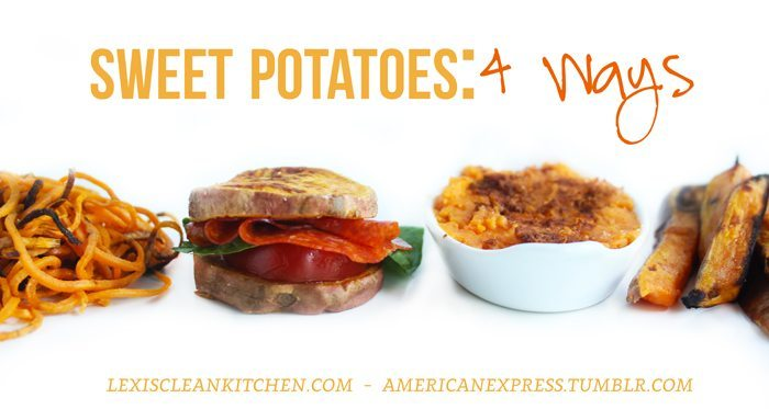 Sweet Potatoes 4 Ways