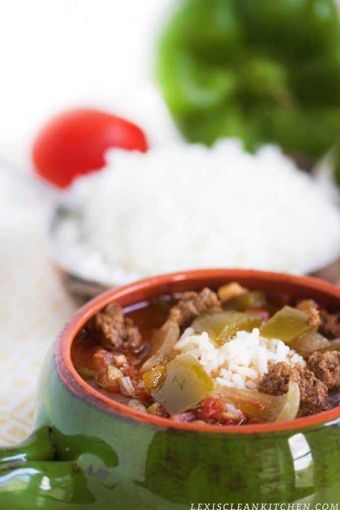 Crock-Pot Stuffed Pepper Soup