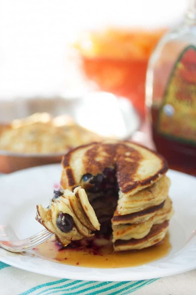 Paleo Pancakes with almond flour