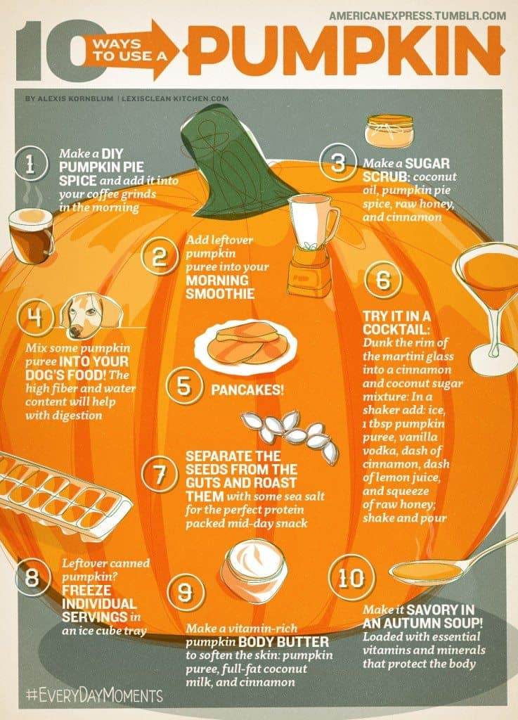 10 Ways To Use Your Pumpkin