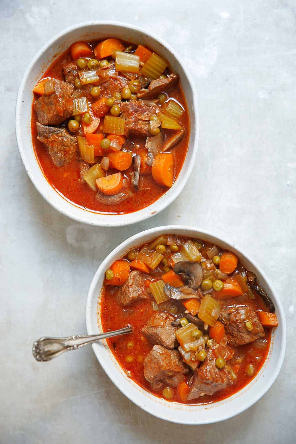 Slow Cooker Beef Stew [paleo-friendly, grain-free, dairy-free] | Lexi's Clean Kitchen