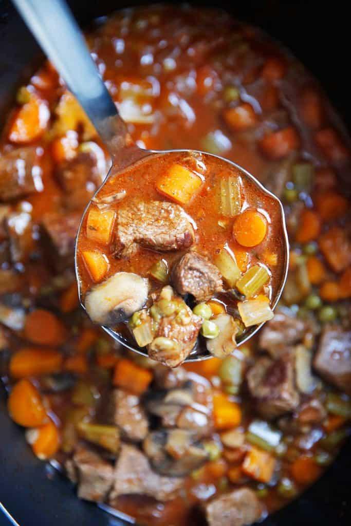 Slow Cooker Beef Stew [paleo-friendly, grain-free, dairy-free] | Lexi's Clean Kitchen