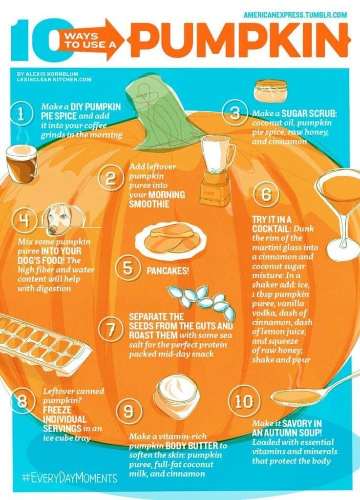 10 Ways To Use Pumpkin