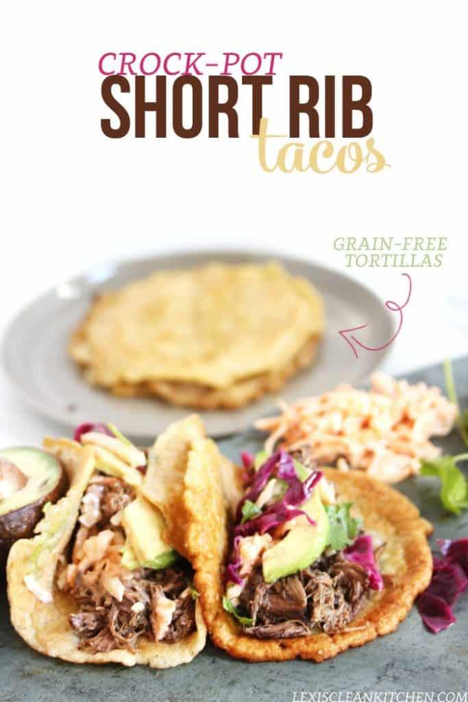 Slow-Cooker Short Rib Tacos
