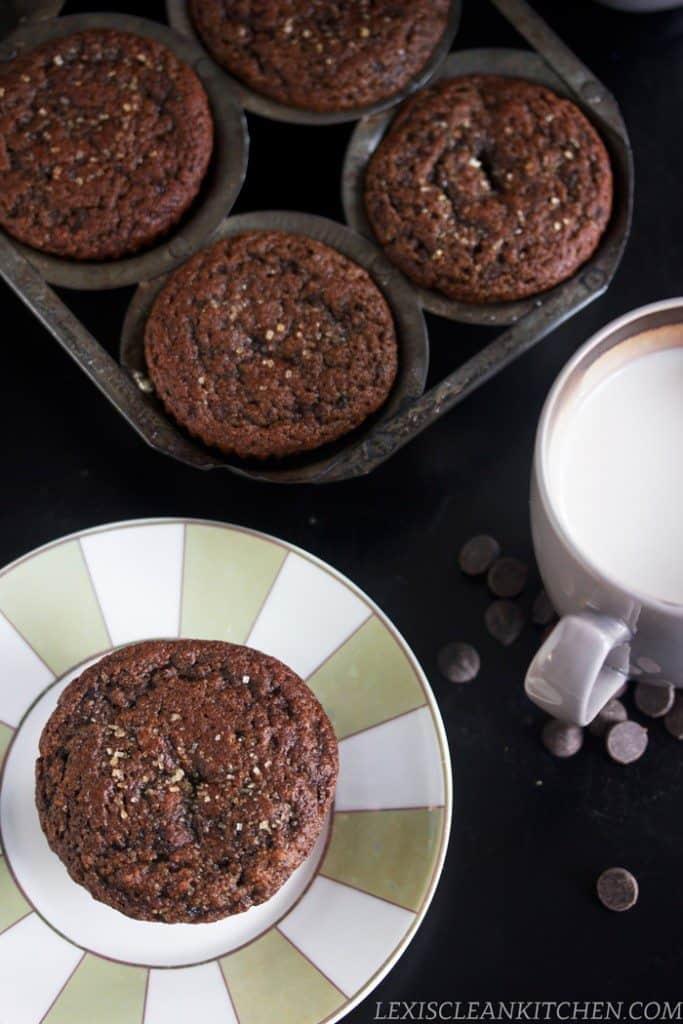 Mocha Fudge Muffins