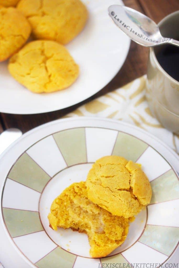 Paleo Pumpkin Biscuits