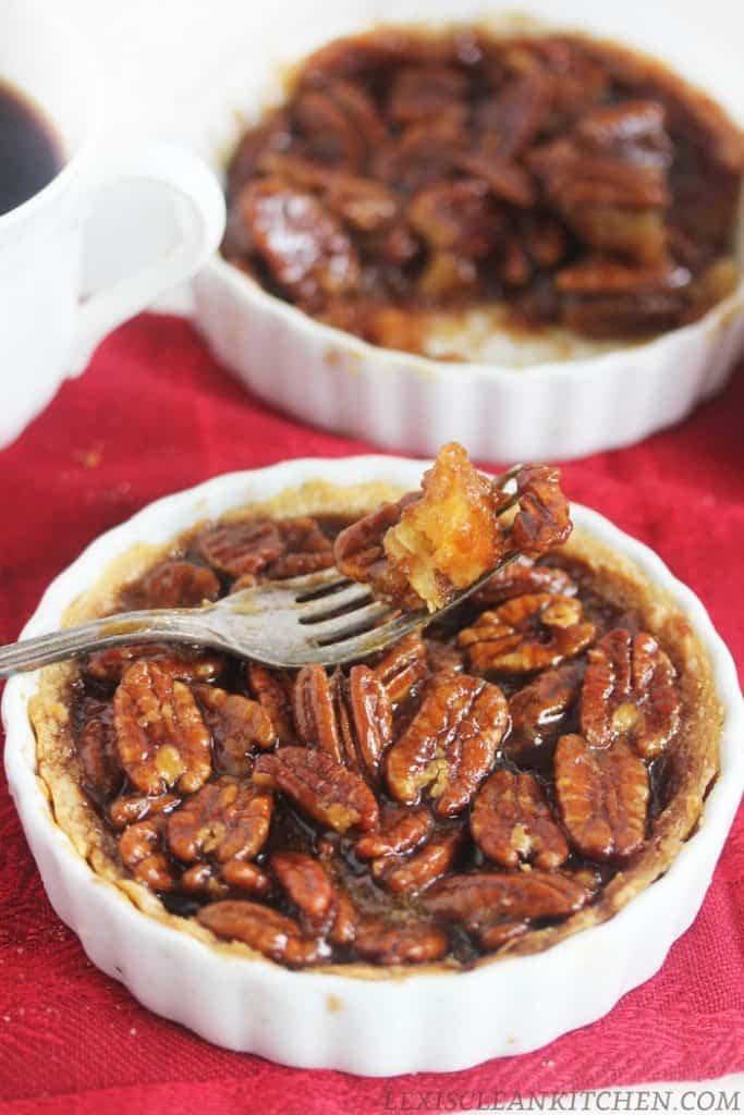 Pecan Pie Tarts - Lexi's Clean Kitchen