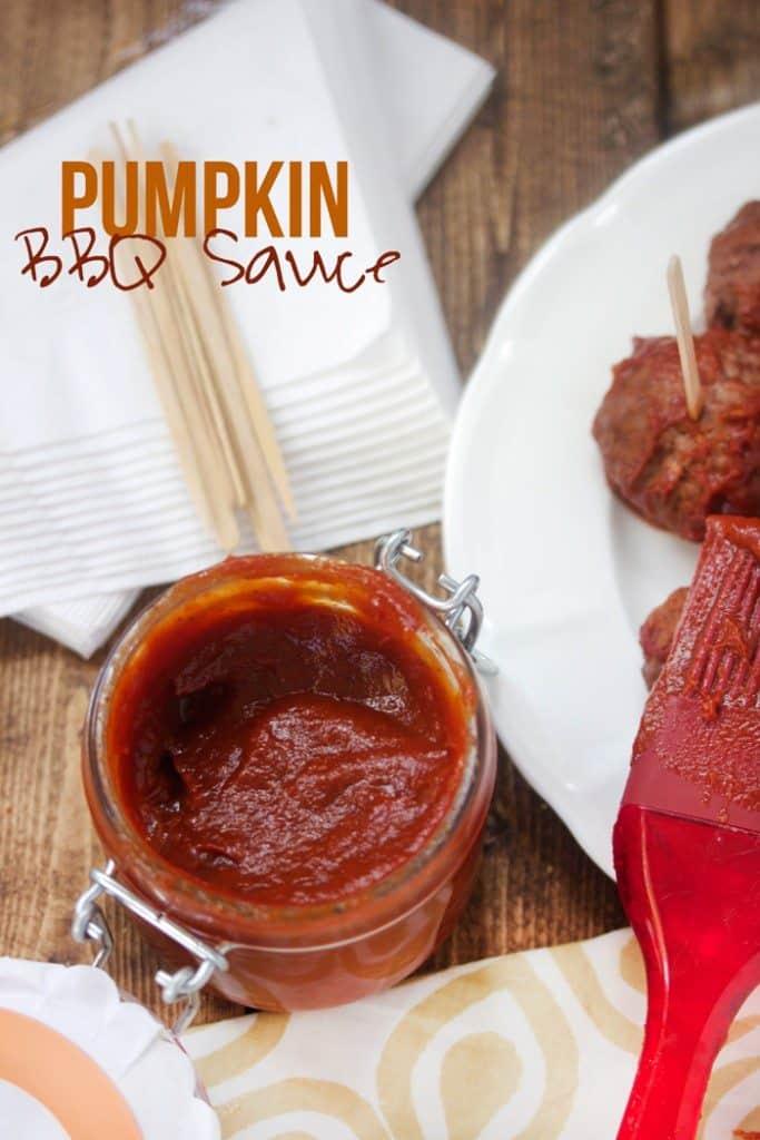 Pumpkin BBQ Sauce