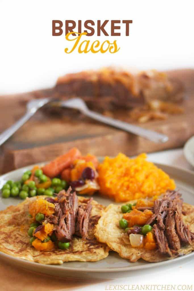 Simple Slow Cooker Brisket Amp Hearty Brisket Tacos Lexi S Clean Kitchen