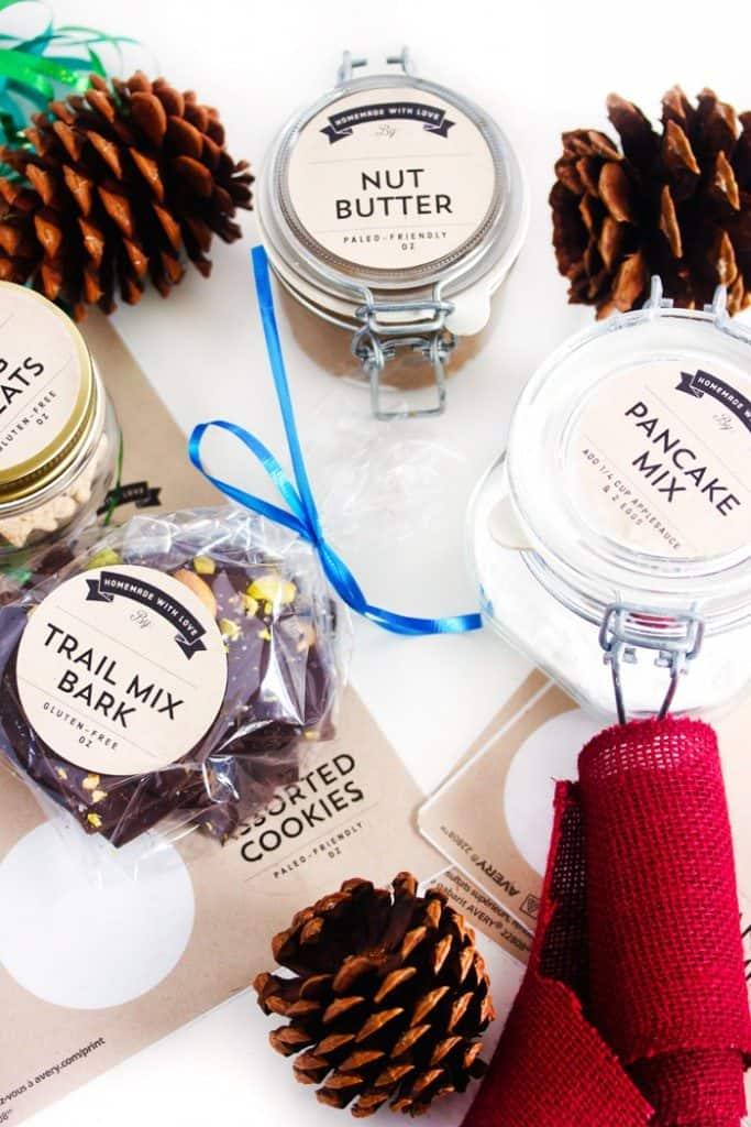 Free Printable Edible Gift Labels