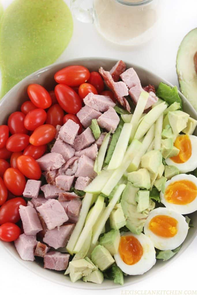 Ham Salad Green Apple Vinaigrette
