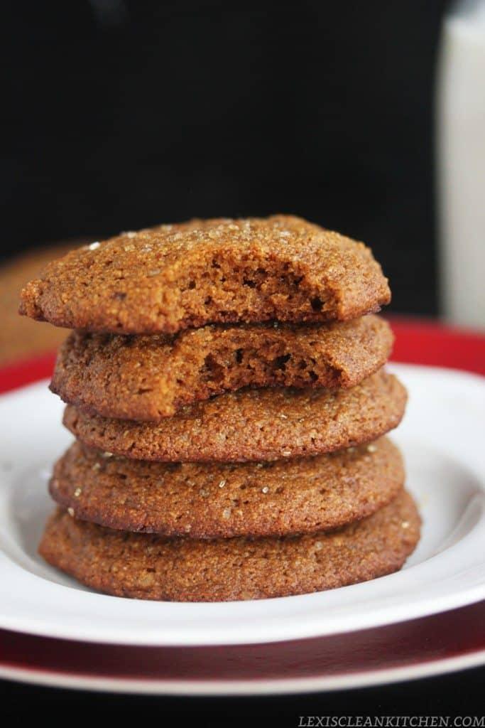 Molasses Fudge Cookies