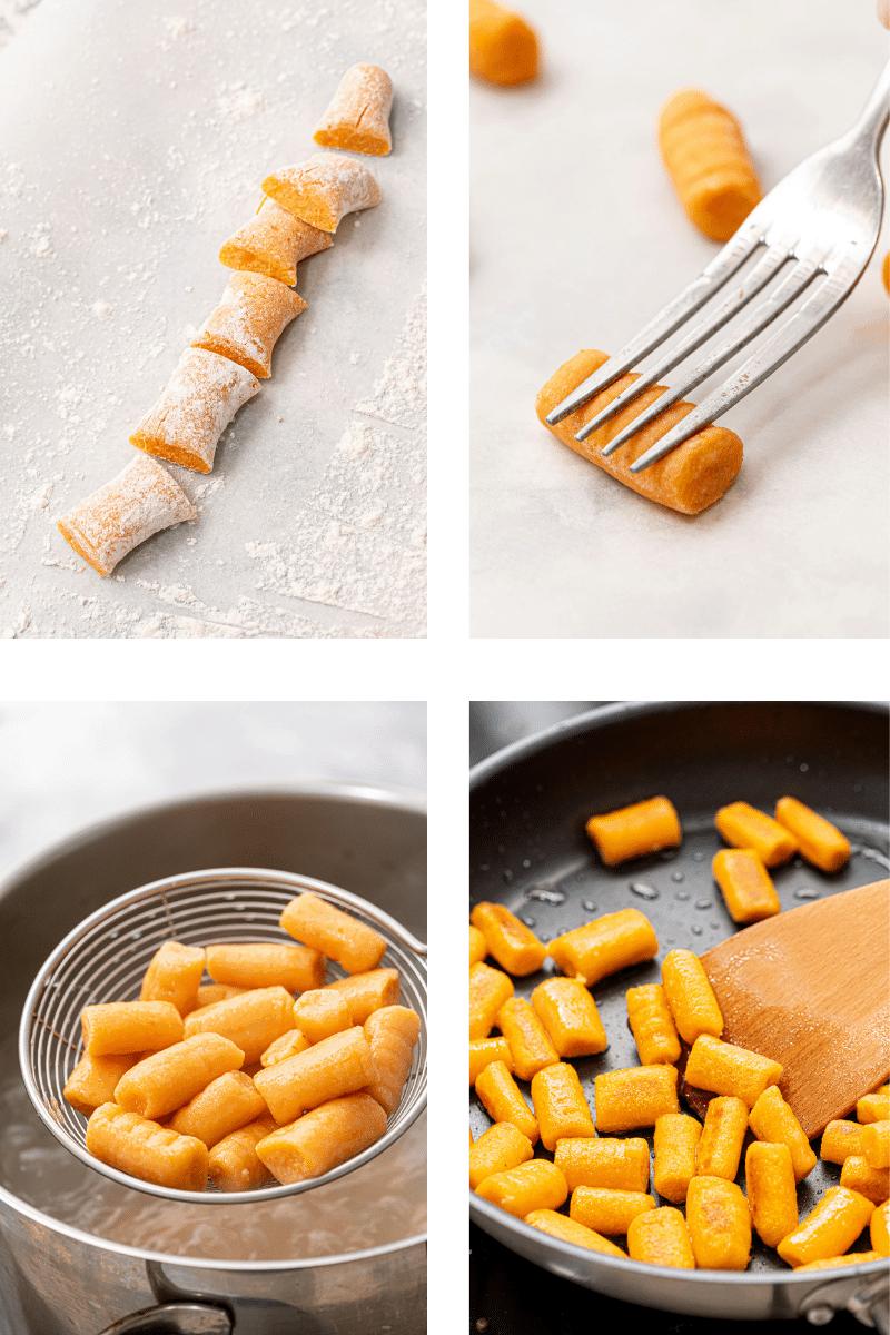 Steps to Make Sweet Potato Gnocchi