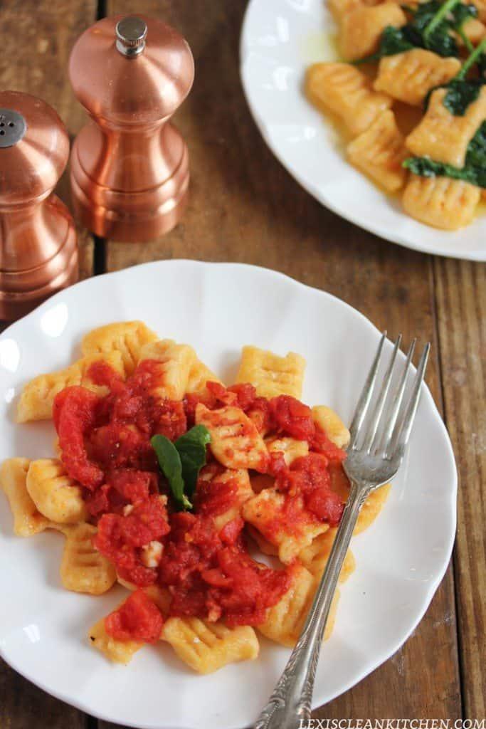 Lexi S Clean Kitchen Sweet Potato Gnocchi Two Ways Gluten Free