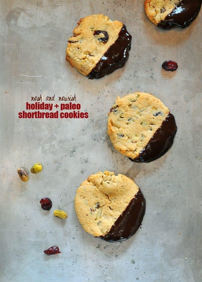 Paleo Shortbread Cookies Above Nosh