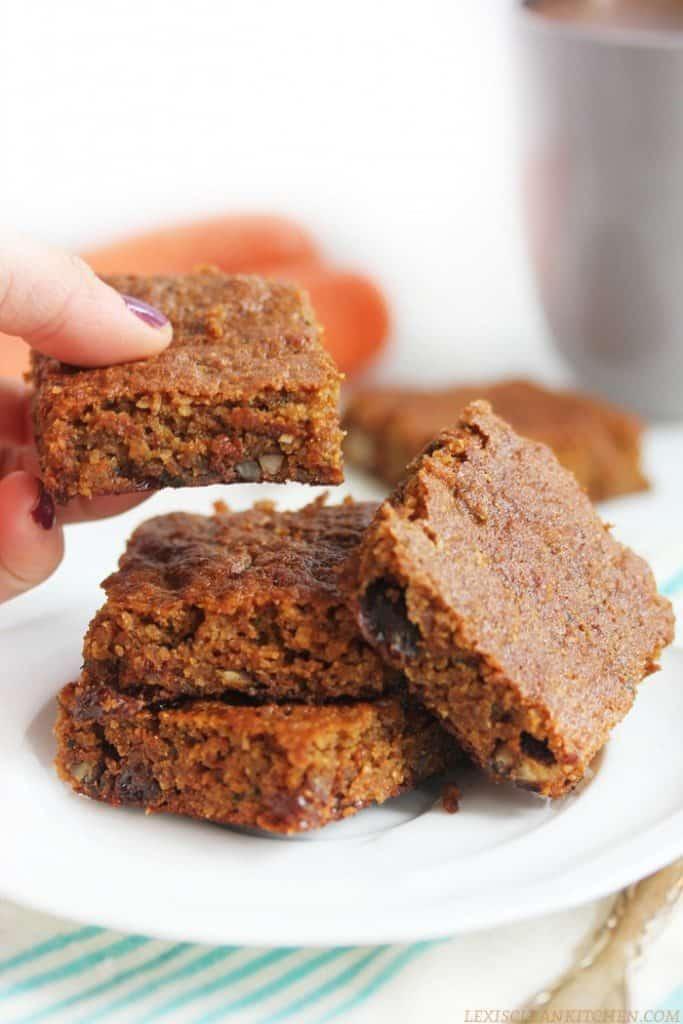 Paleo Carrot And Zucchini Bars Recipe