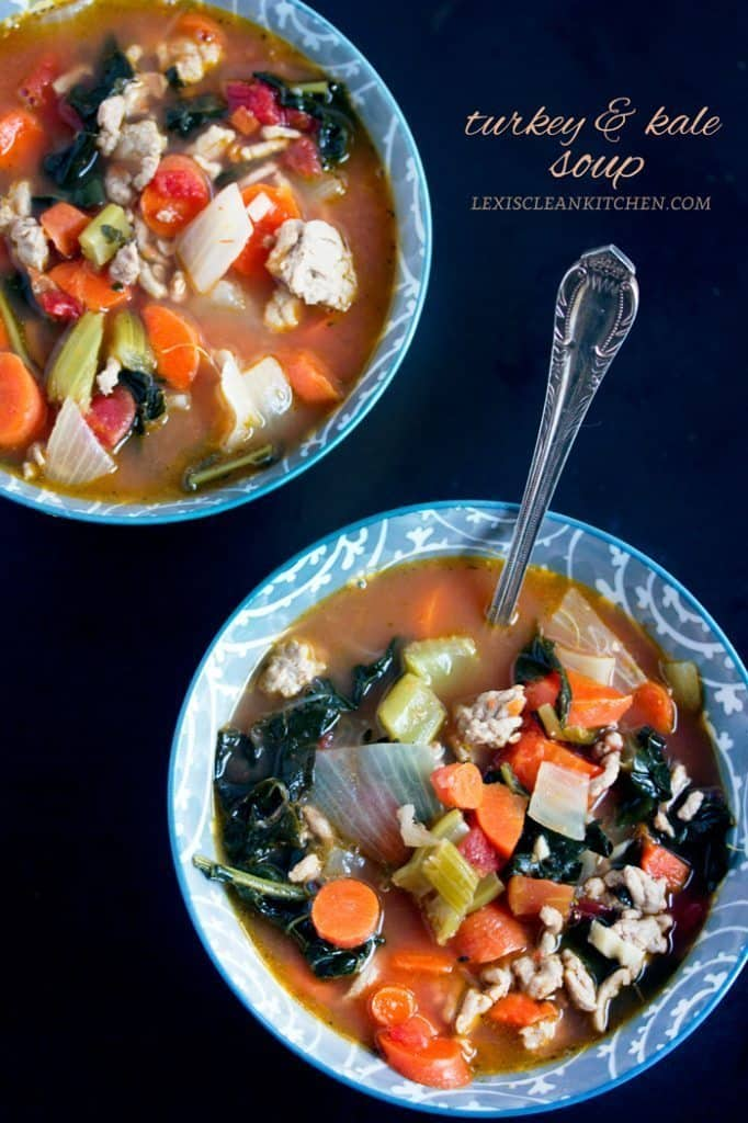 Turkey Kale Soup - Lexi's Clean Kitchen