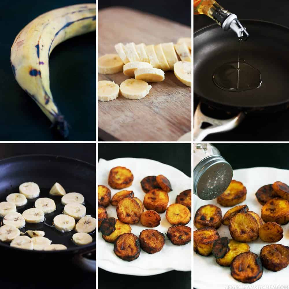 Easy & Healthy Fried Plantains