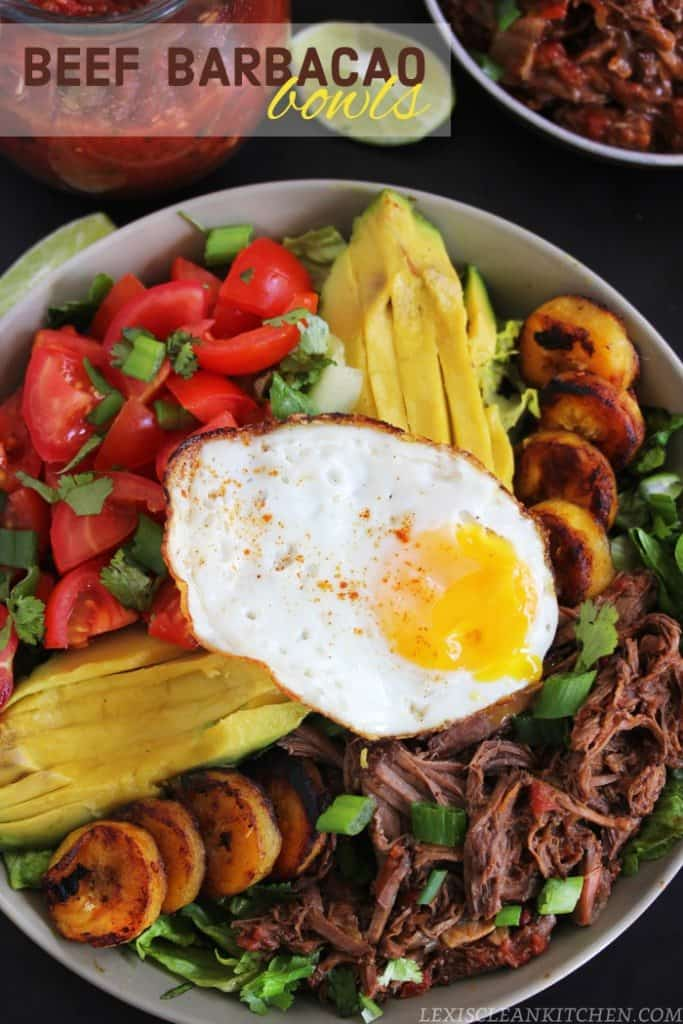 Beef Barbacoa Bowls