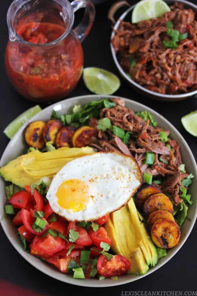 Beef Barbacoa Bowls Recipe