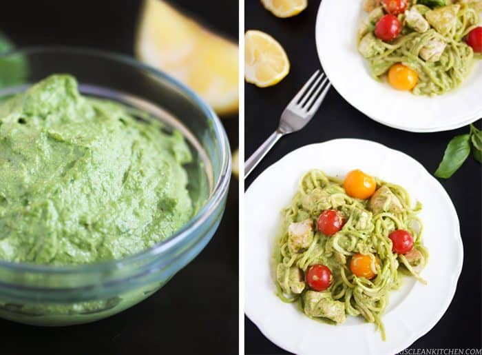 Creamy Pesto Pasta | Lexi's Clean Kitchen