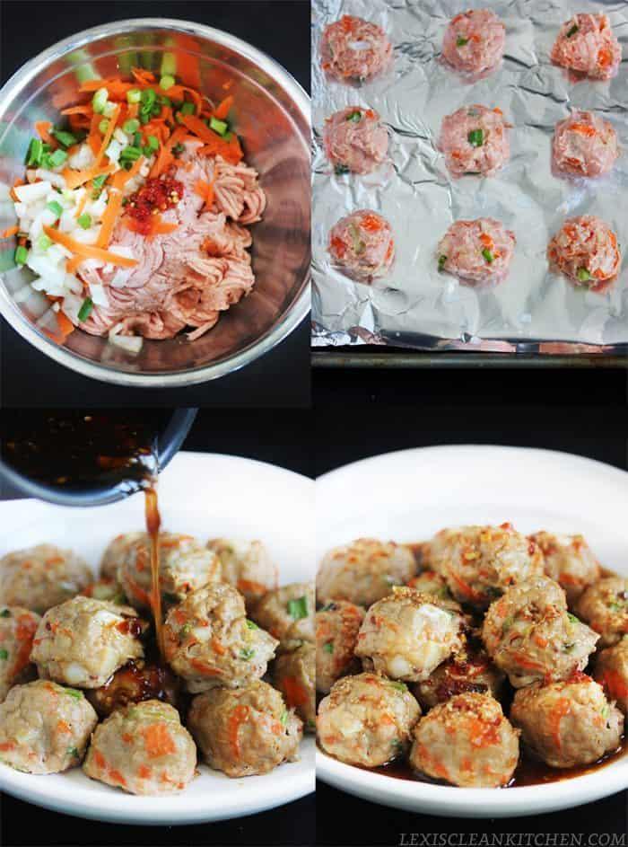 Paleo Thai Meatballs | Lexi's Clean Kitchen