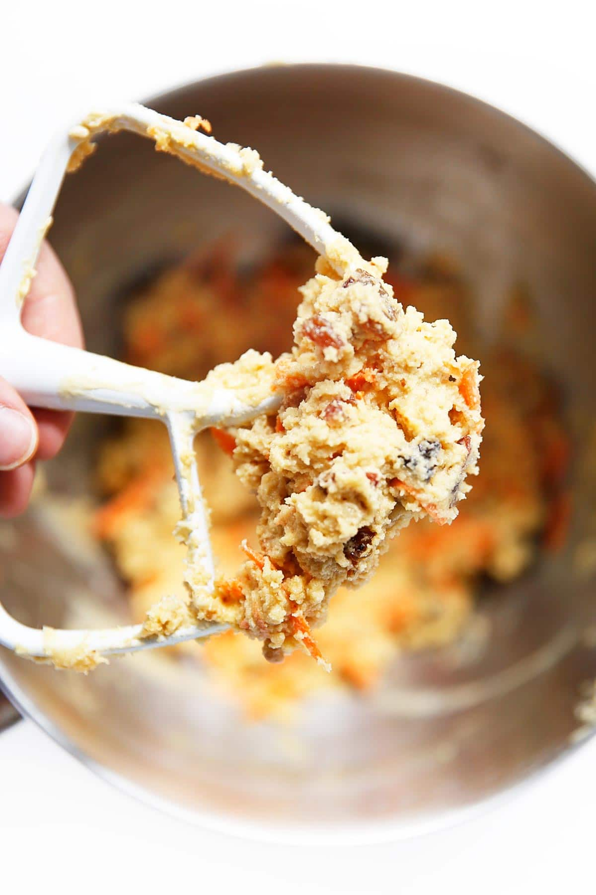 Paleo Carrot Cake Cookie Dough