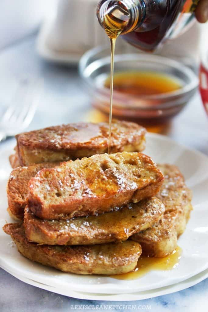 Paleo French Toast Sticks