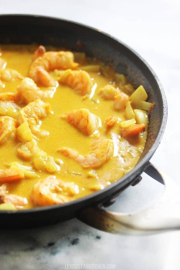 How To Make Curry Shrimp Skillet
