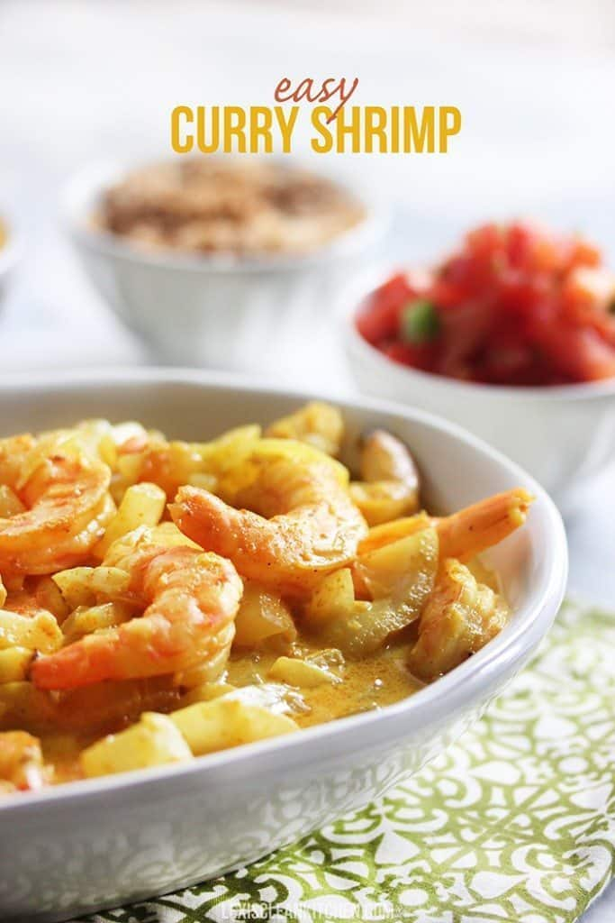 How to make Easy Curry Shrimp