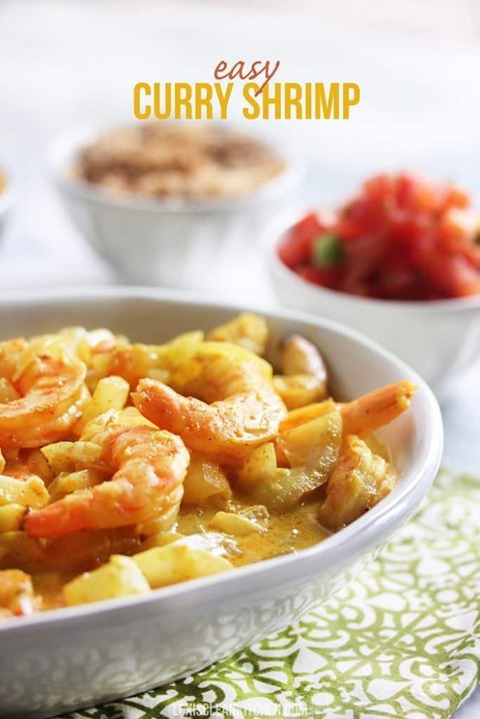 How to make Easy Curry Shrimp