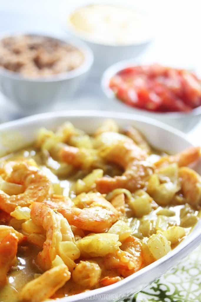 Easy Curry Shrimp