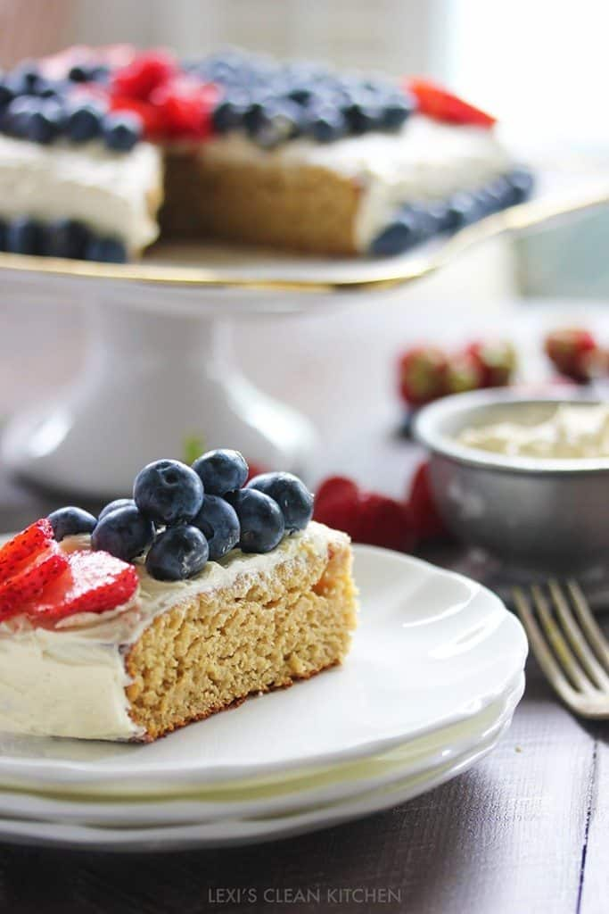 gluten-free cake for 4th of July