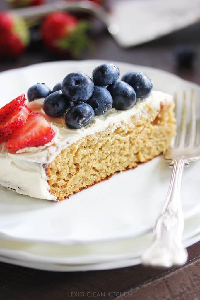 Gluten-Free 4th of July Cake (Nut-Free)