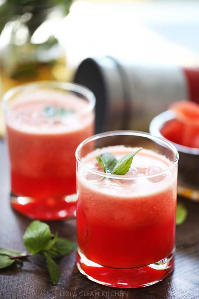 2-Minute Watermelon Juice