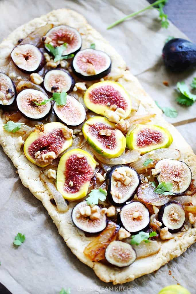 Gluten Free Pizza with Figs
