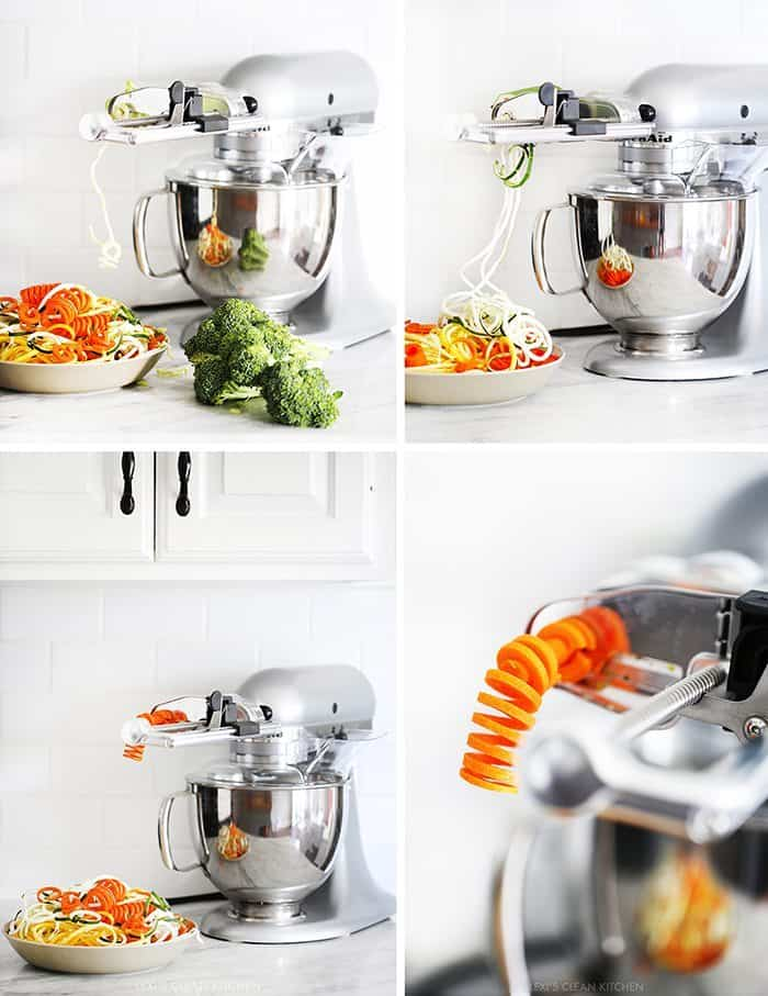 kitchenaid spiralizer attachment. antipastosalad11 kitchenaid spiralizer attachment